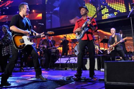 Bruce+Springsteen+Tom+Morello+55th+Annual+7qnBMsjlV8Cx