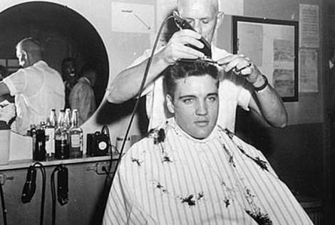 cabelo do Elvis