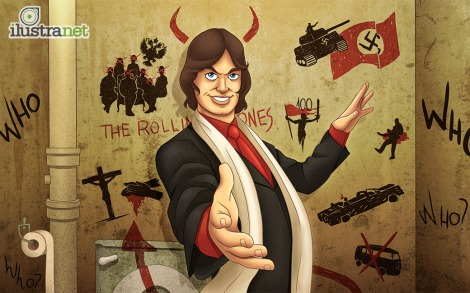 Sympathy For The Devil - Rolling Stones (Reprodução: Ilustranet)