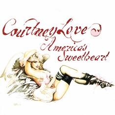 Na capa do álbum, Courtney Love vira uma pin-up da Playboy em desenho assinado pela pintora norte-americana de arte erótica, Olivia de Berardinis