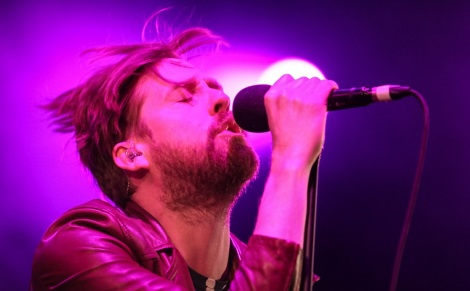 Ricky Wilson, vocalista do Kaiser Chiefs