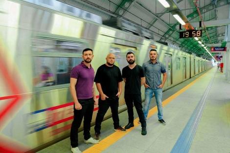 Quarteto foi formado na cidade de São Leopoldo/RS (Foto: Taali Heck)