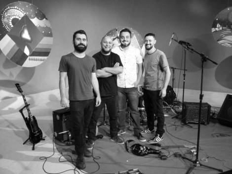 Tiago Hermano, Thiago Fandango, Rui Filho e Adriano Antunes