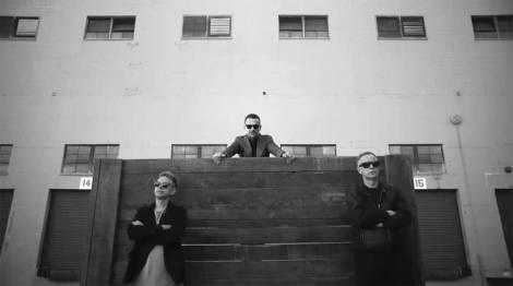 Martin Gore, Dave Gahan e Andrew Fletcher (Foto: Divulgação)