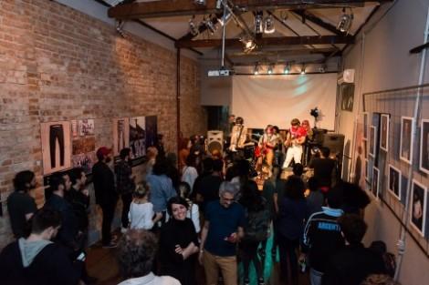Show da banda Der Baum durante a Casa Levi's 2016 (Foto: Divulgação)